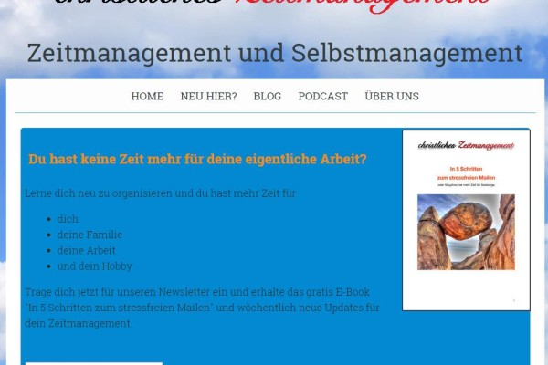 christliches zeitmanagement