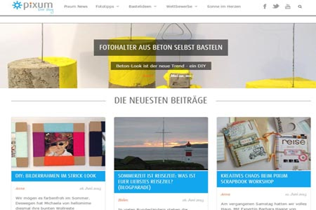 Blogparade bei Pixum.de
