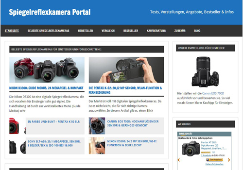 Blogparade - Spiegelreflexkamera
