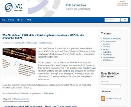lvq.de Karriere blog