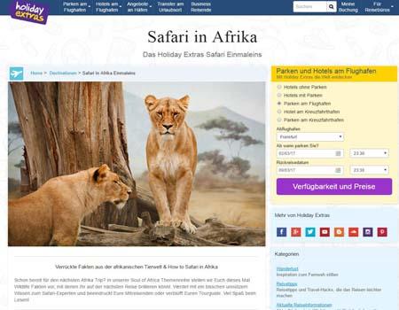 holidayextras-safari.de