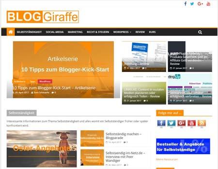 bloggiraffe.de