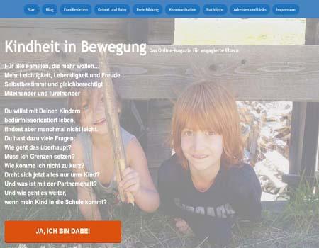 kindheitinbewegung.net